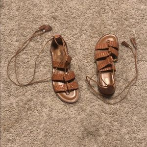 Micheal Kora braided sandals
